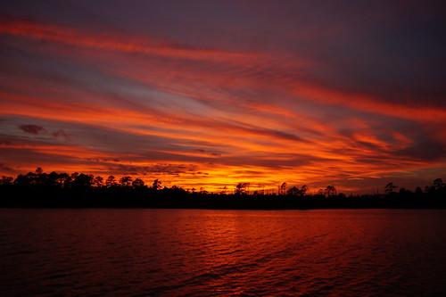 sunset spectacularsunsetsandsunrises cloudsstormssunsetssunrises northwestcreek cloudscape fairfieldharbour northcarolina sonyphotographing sonya58 sony