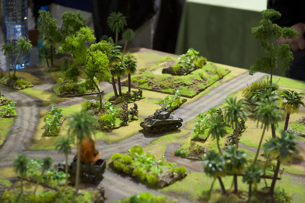 Pacific game, M4 tank