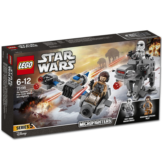 LEGO Star Wars 75195 - Ski Speeder vs. First Order Walker