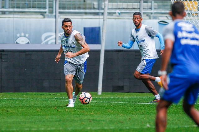 Treino Grêmio 21/11/17