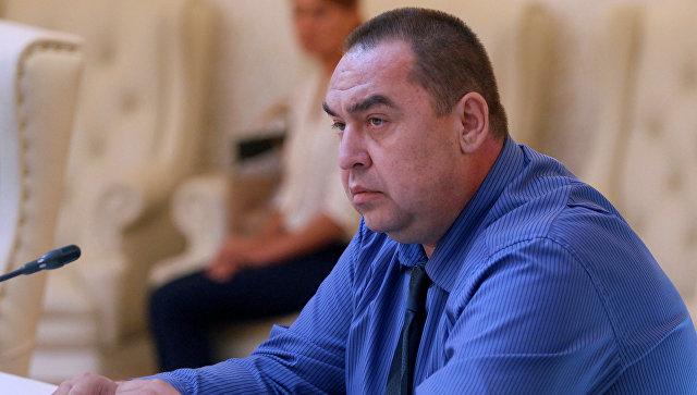 Глава ЛНР Плотницький написав заяву про відставку за станом здоров'я