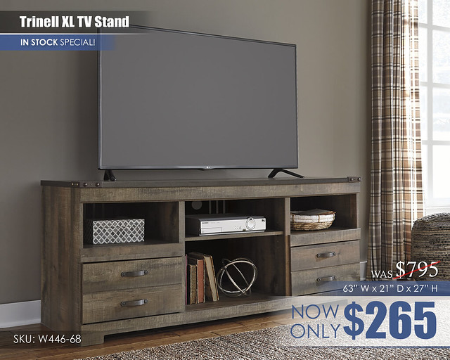 Trinell XL TV Stand W446-68