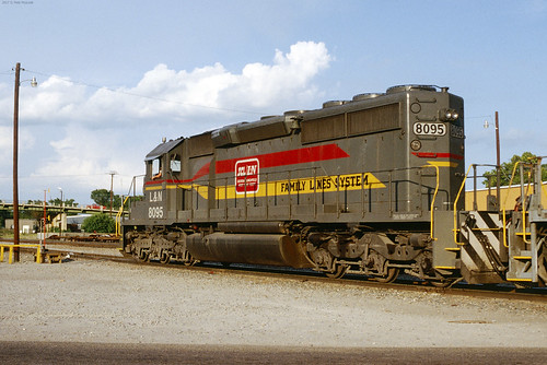 L&N 8095  Sumter SC August 1980