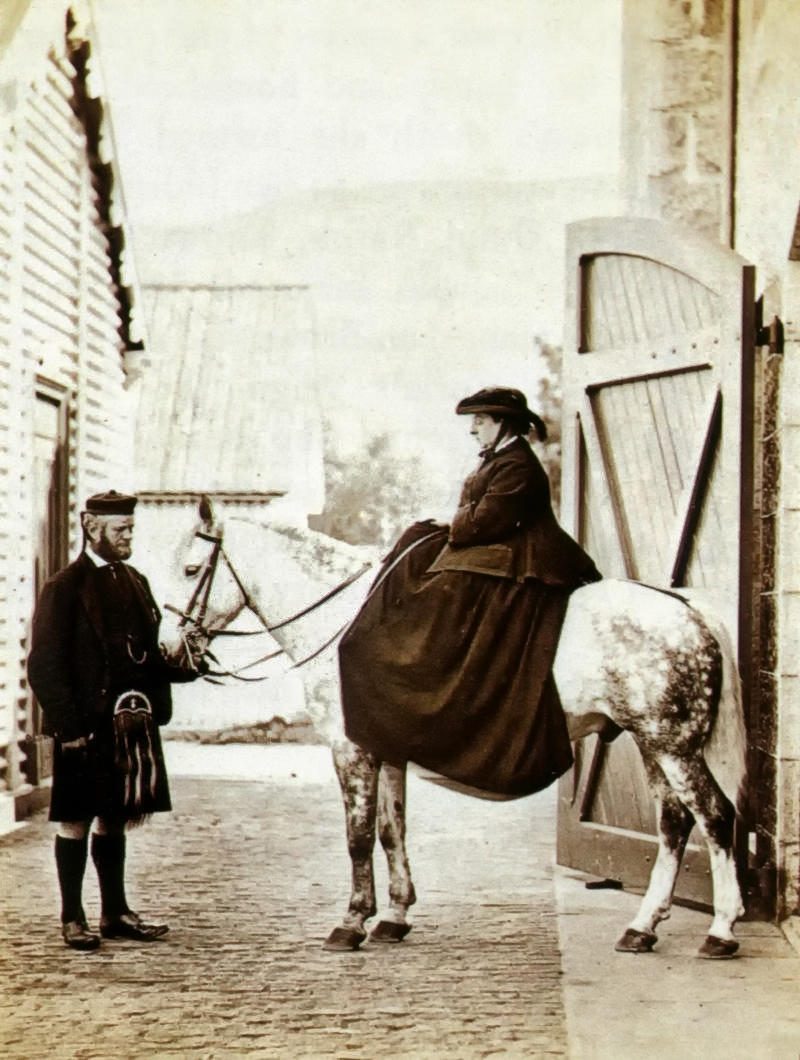 John Brown and Queen Victoria, 1868