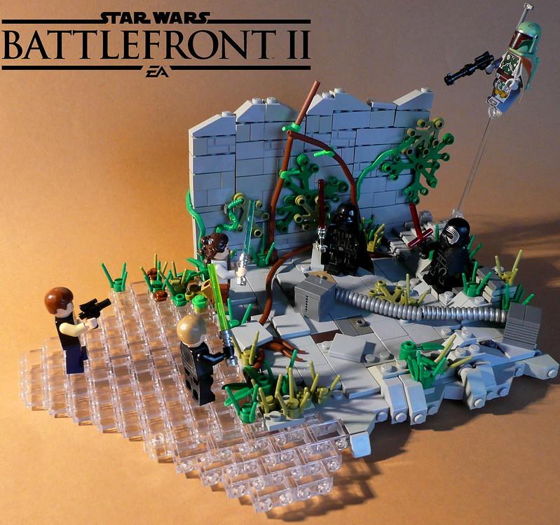 Star Wars Battlefront II - Heroes vs. Villains on Yavin IV - LEGO ...