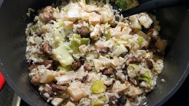 winterse risotto met veel groenten