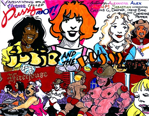 VARIATIONS ON A THEME CALLED PUSSY RIOT: 1971
