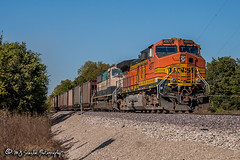 BNSF 4977 | GE C44-9W | BNSF Thayer South Subdivision