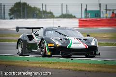 Spirit of Race Ferrari 488 GT3 Blancpain Endurance Series Silverstone 2017 Sportscar Racing News