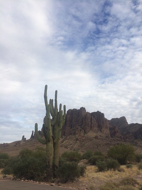 Lost Dutchman the Superstition Mountains