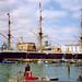 H.M.S. Warrior, Portsmouth, 4th August 1991