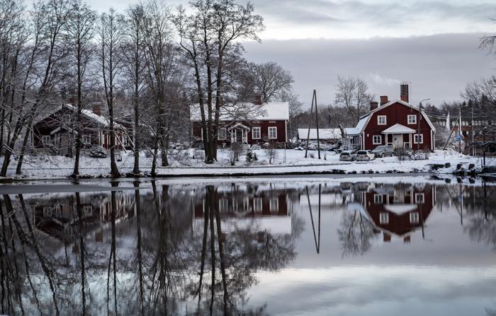 strömforsin ruukin joulu 2017 ruukki ruotsinpyhtää wanhat talot