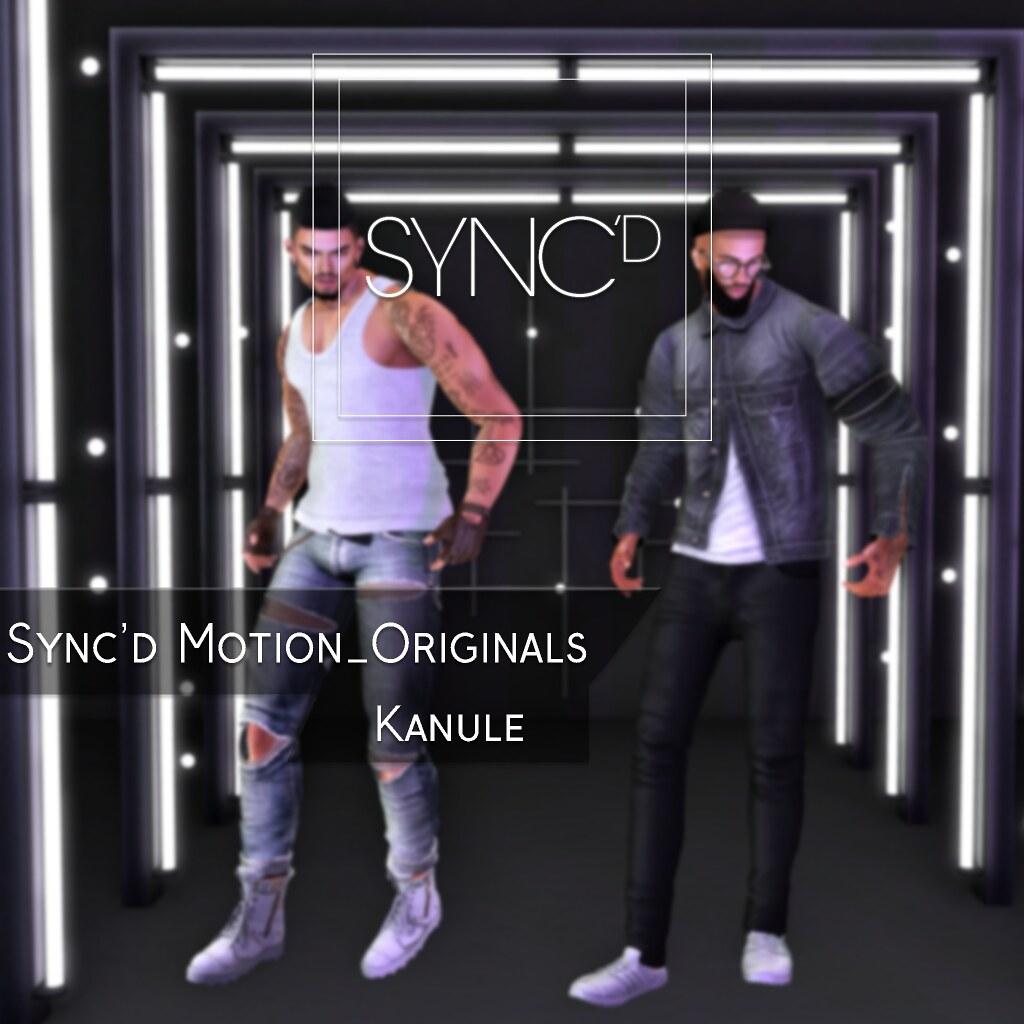 Sync'd Motion__Originals - Kanule Pack