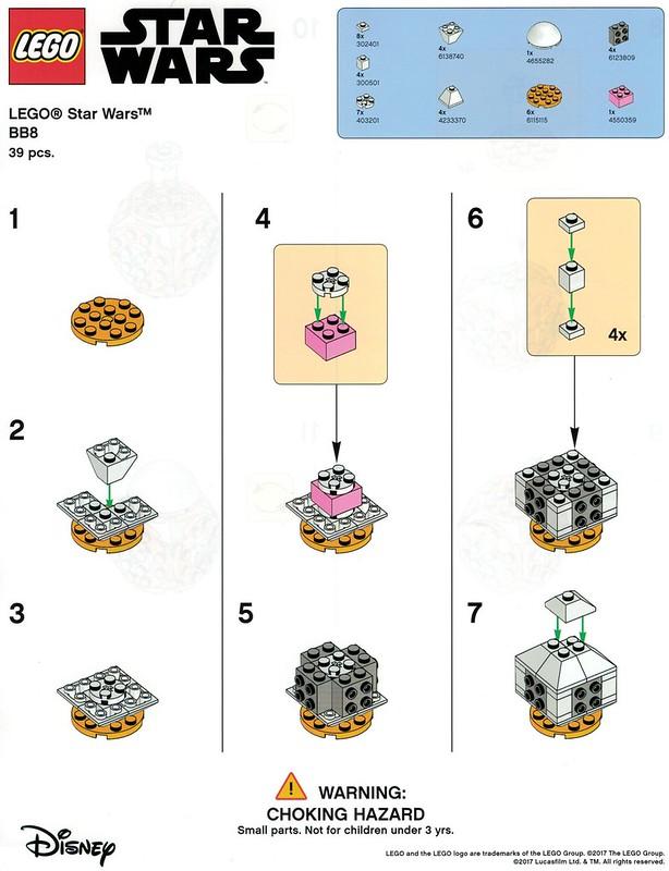 Instrukcja budowy Lego BB-8 z Toys R Us 1