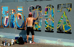 graffitiartist in action