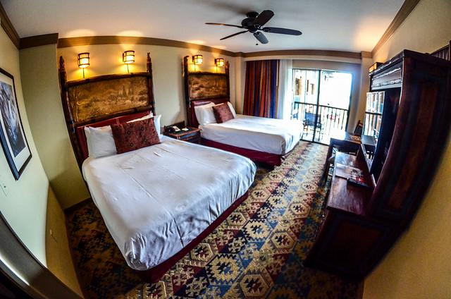 Wilderness Lodge room