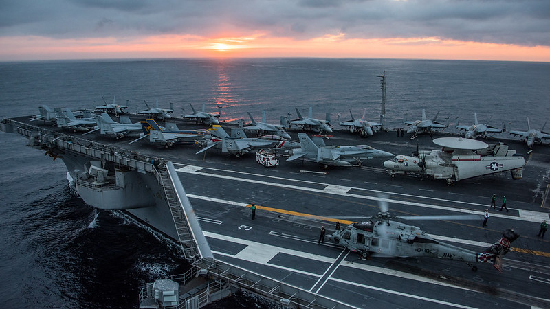 Vinson Carrier Strike Group Trains for Future Pacific Deployment