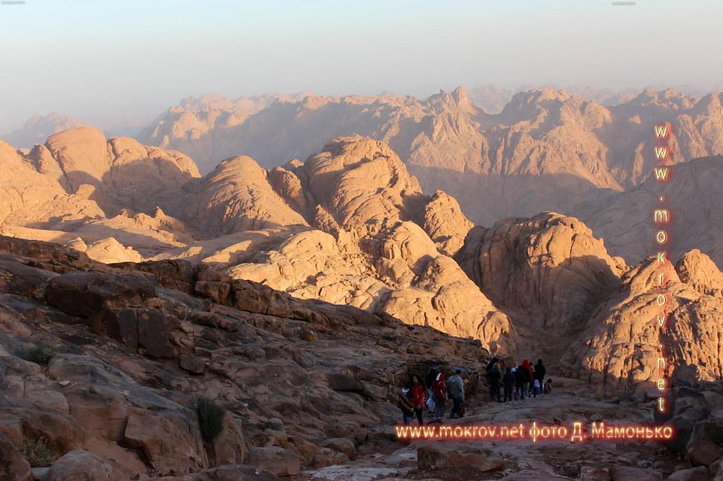 Синайские горы — Египт фотопейзажи