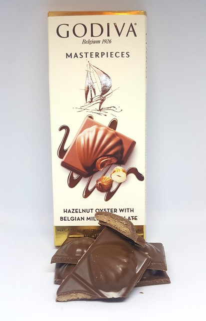 Godiva Hazelnut Oyster with Belgian Chocolate
