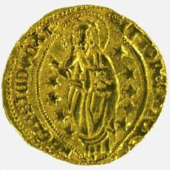Ducat of Visconti Chios reverse