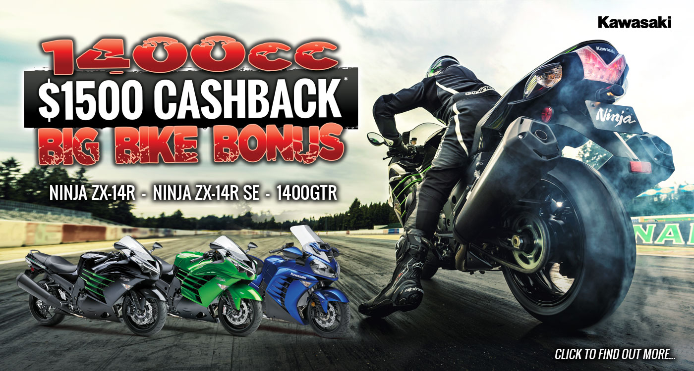1400cc BIG BIKE BONUS