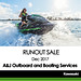 KAWASAKI DEALER EVENT – A&J Outboard and Boating Services – 2017 Runout Sale – December 2017