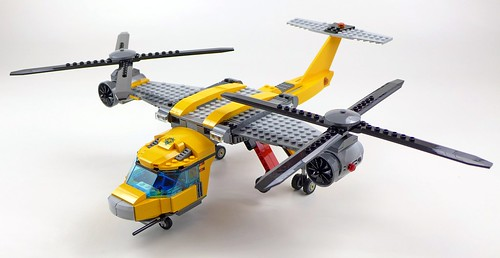 LEGO City Jungle 60162 Jungle Air Drop Helicopter 111