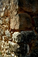 lumière d'automne sur un mur provençal