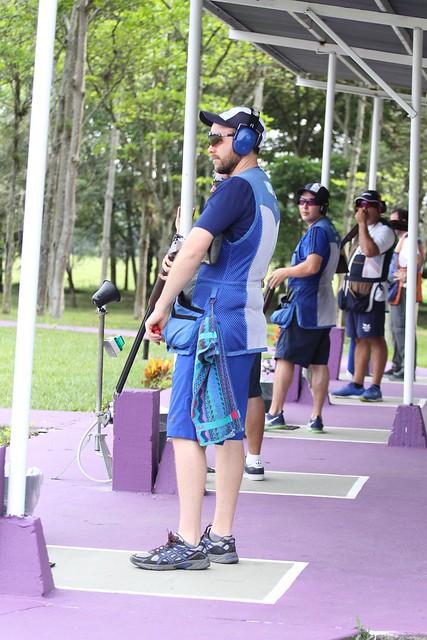 Tiro, práctica oficial, Juegos Bolivarianos 2017