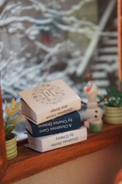 Mini books for Christmas