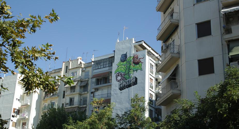 Top bezienswaardigheden Thessaloniki: street art | Mooistestedentrips.nl