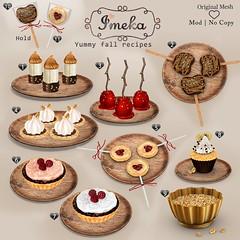 {Imeka} Yummy fall recipes GACHA