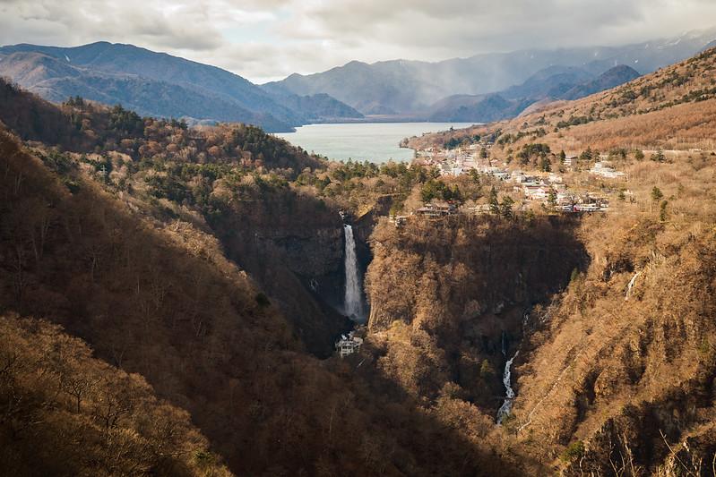 華巖瀑布|中禪寺湖