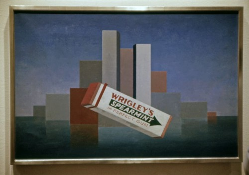 Wrigley's, Charles Green Shaw - Art Institute of Chicago - 1987