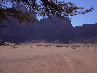 Mit dem Jeep unterwegs im Wadi Rum