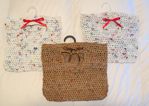 Recycled Plastic Bag Clothes Pin Bags
