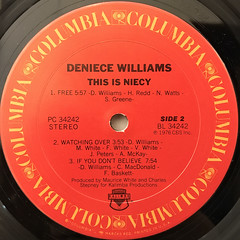 DENIECE WILLIAMS:THIS IS NICEY(LABEL SIDE-B)