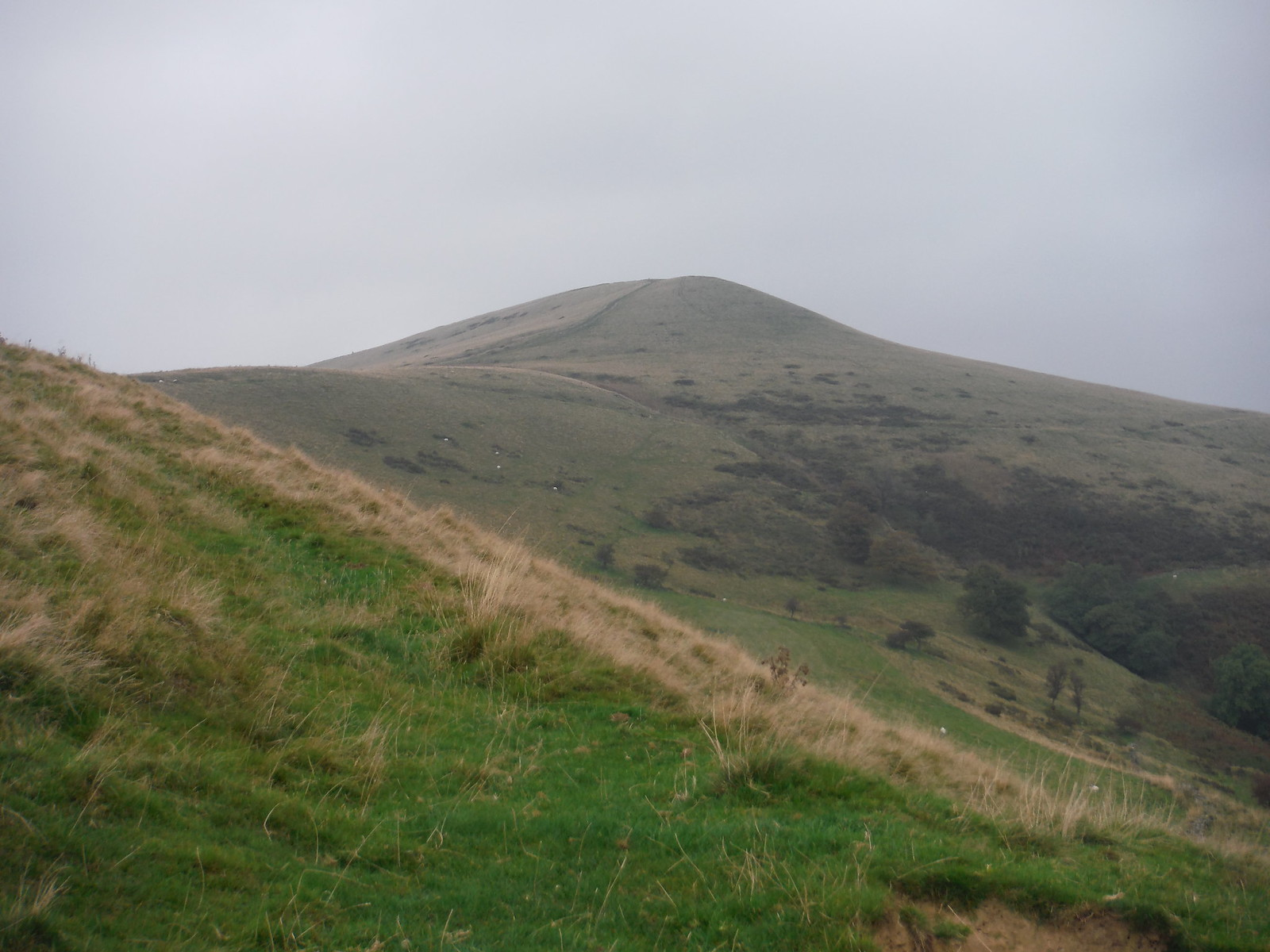 Lose Hill from Losehill End SWC Walk 302 - Bamford to Edale (via Win Hill and Great Ridge)