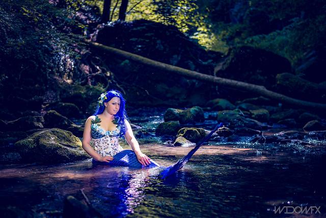 Meerjungfrauen Shooting Luxemburg 2017