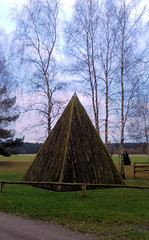 Nemitzer Heide Wendland Holzpyramide