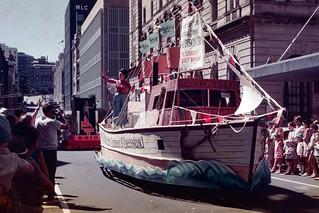 Australia Day Parade 1970