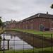 TIMS Mill Tour 2017 UK - Dunham Massey Sawmill - mill pond-9244