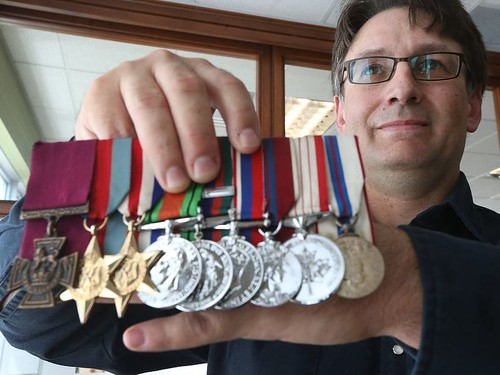 David Currie medals