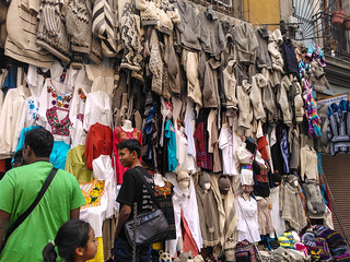 Street shop in Mexico city