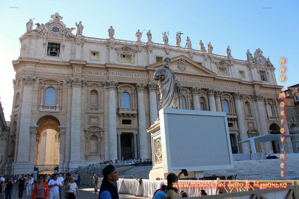 Исторический центр Государства — города Ватикан фоторепортажи