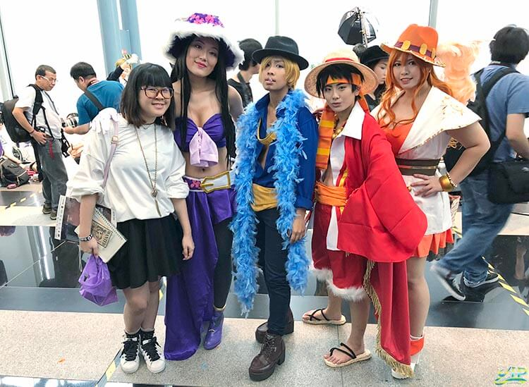 One Piece's cosplayers