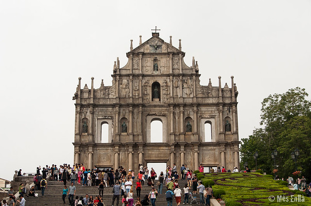 Iglesia de San Pablo en Macao
