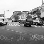 Intersection of Post Avenue and Tenth Avenue, Inwood, New York City