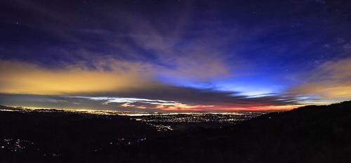 paumavalley california unitedstates us view vista northcounty sandiego night clouds panorama canon canon6d sky