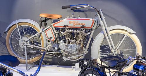 1916 Harley-Davidson F motorcycle